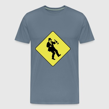 Caution drunkard - Men's Premium T-Shirt