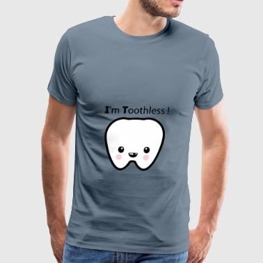 Toothless Tooth - Men's Premium T-Shirt