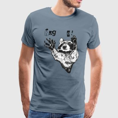 Hug me Raccoon - Men's Premium T-Shirt