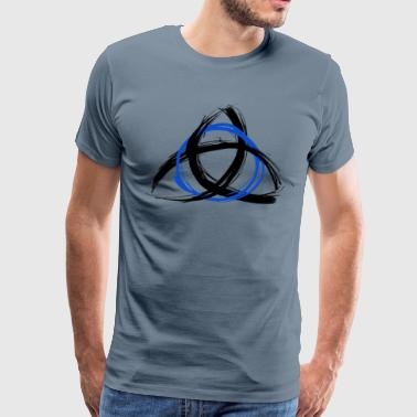 The Trinity - Blue - Men's Premium T-Shirt