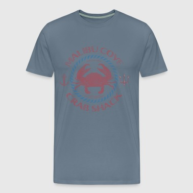 Malibu Cove Crab Shack - Men's Premium T-Shirt