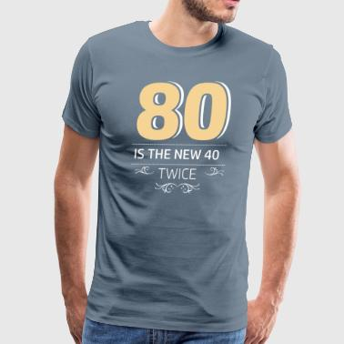 80 years and increasing in value - Men's Premium T-Shirt