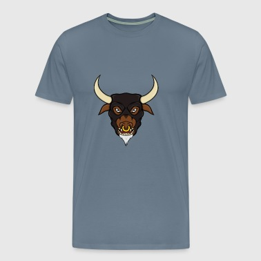 Minotaur Head - Men's Premium T-Shirt