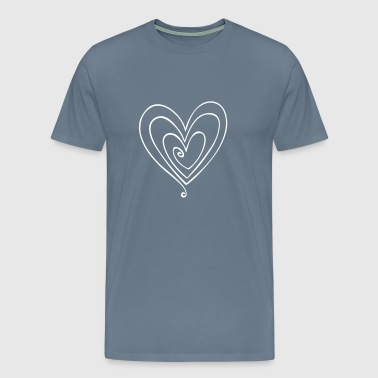 Cute Heart - Men's Premium T-Shirt