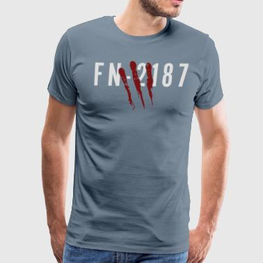Zombie FN Cyber system - Men's Premium T-Shirt