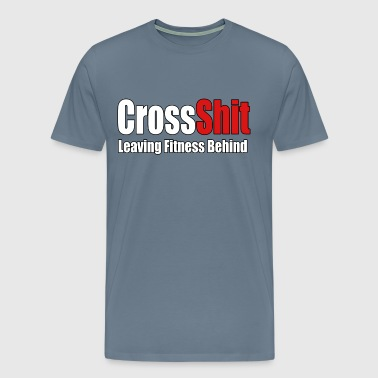 CrossShit Fitness Behind - Men's Premium T-Shirt