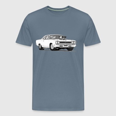 69 Plymouth Road Runner  - Men's Premium T-Shirt