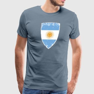 Flag of Argentina - Men's Premium T-Shirt
