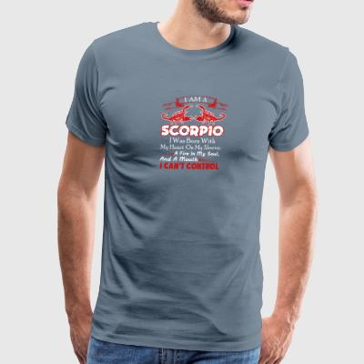 I Am A Scorpio Shirt - Men's Premium T-Shirt