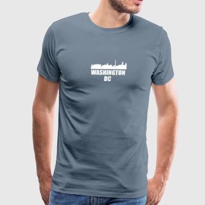 Washington DC DC Skyline - Men's Premium T-Shirt
