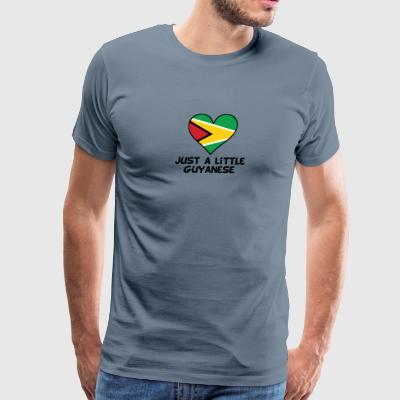 Just A Little Guyanese - Men's Premium T-Shirt
