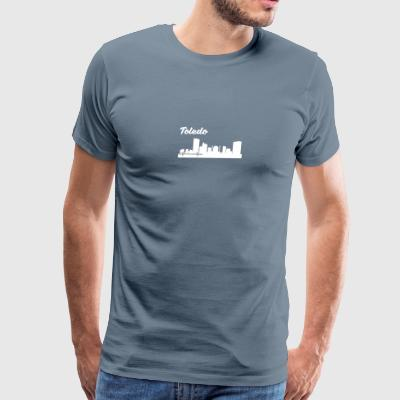 Toledo OH Skyline - Men's Premium T-Shirt
