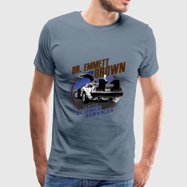 Dr. Emmett Brown Science Services - Men's Premium T-Shirt