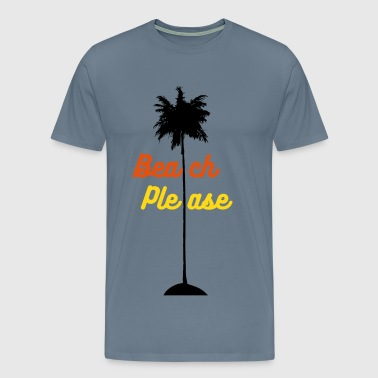 Paml Tree - Men's Premium T-Shirt