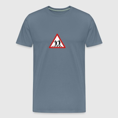 Blind Crossing - Men's Premium T-Shirt