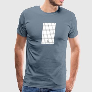 Grid Design - Men's Premium T-Shirt