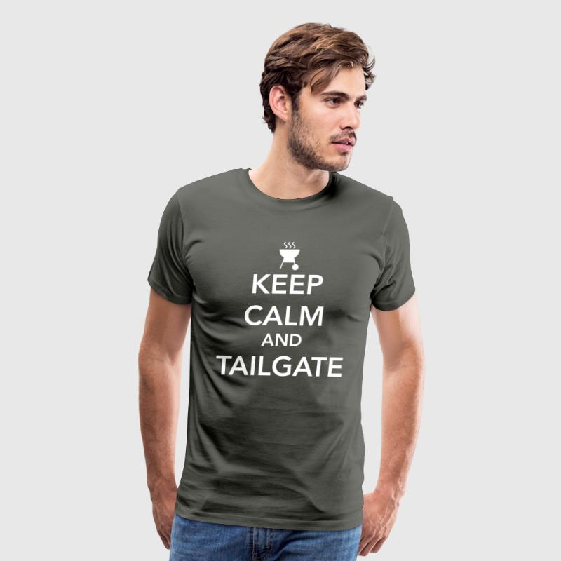 Keep calm and tailgate - Men's Premium T-Shirt