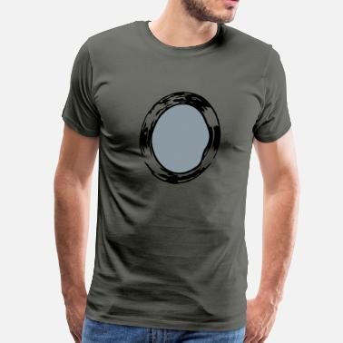 Antik mirror_vec_2 us - Men's Premium T-Shirt
