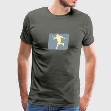 tambourine ball game 15 - Men's Premium T-Shirt