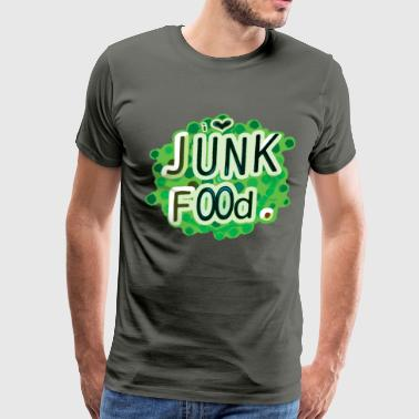 I Heart Junk Food - Men's Premium T-Shirt