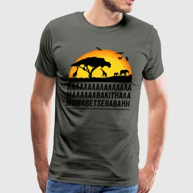 Funny African Film Elephant Birds Lion King Shirt - Men's Premium T-Shirt