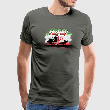 Iran Soccer Tshirt for the Ultimate Fan - Men's Premium T-Shirt