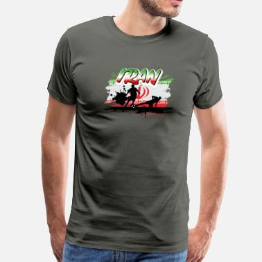 Iran Soccer Jersey Iran Soccer Tshirt for the Ultimate Fan - Men's Premium T-Shirt