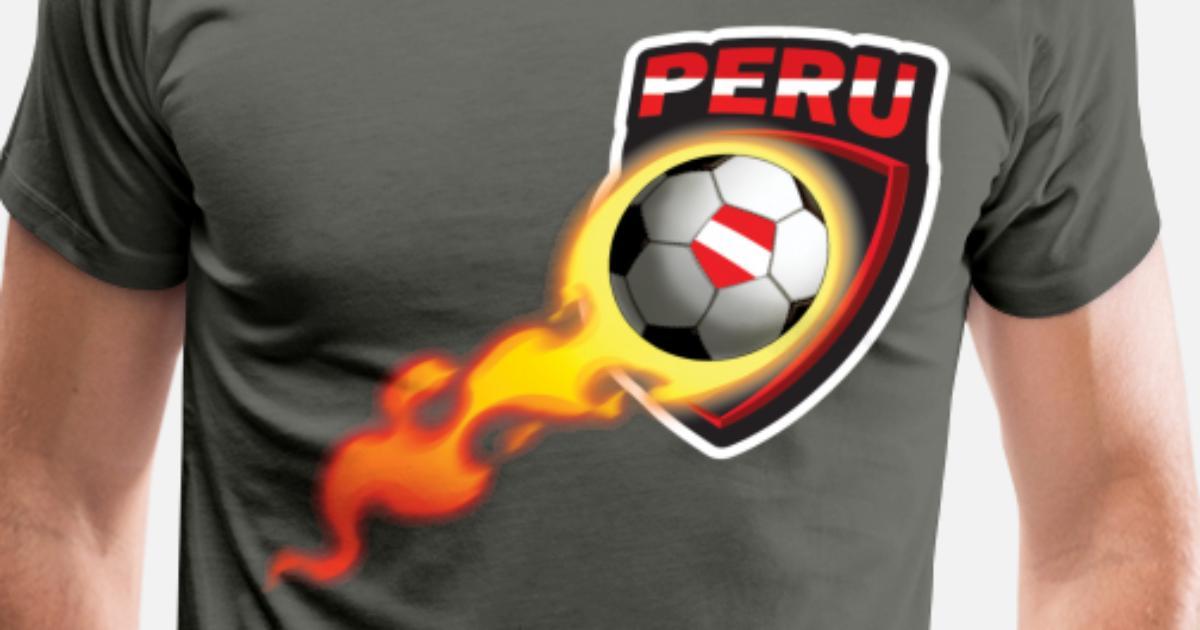 7c68253d5b0 Peruvian Soccer Futbol Shirt for Peru Fans Men's Premium T-Shirt |  Spreadshirt