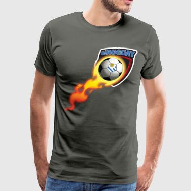Uruguay Football Shirt for Uruguayan Fans - Men's Premium T-Shirt