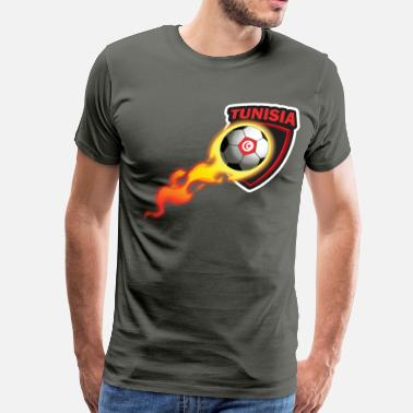 Tunisia Football Tshirt for Tunisian Soccer Fan - Men's Premium T-Shirt