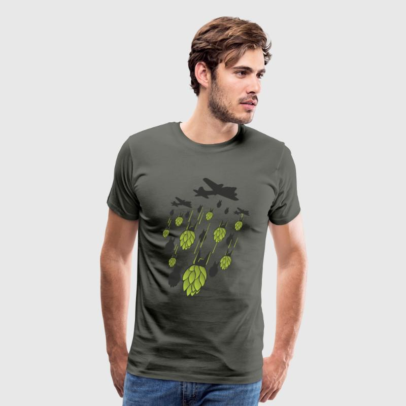 Hop Bomber (CRAFT BEER) - Men's Premium T-Shirt