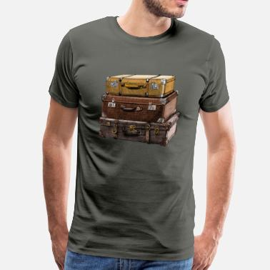 Vacanza suitcase - Men's Premium T-Shirt