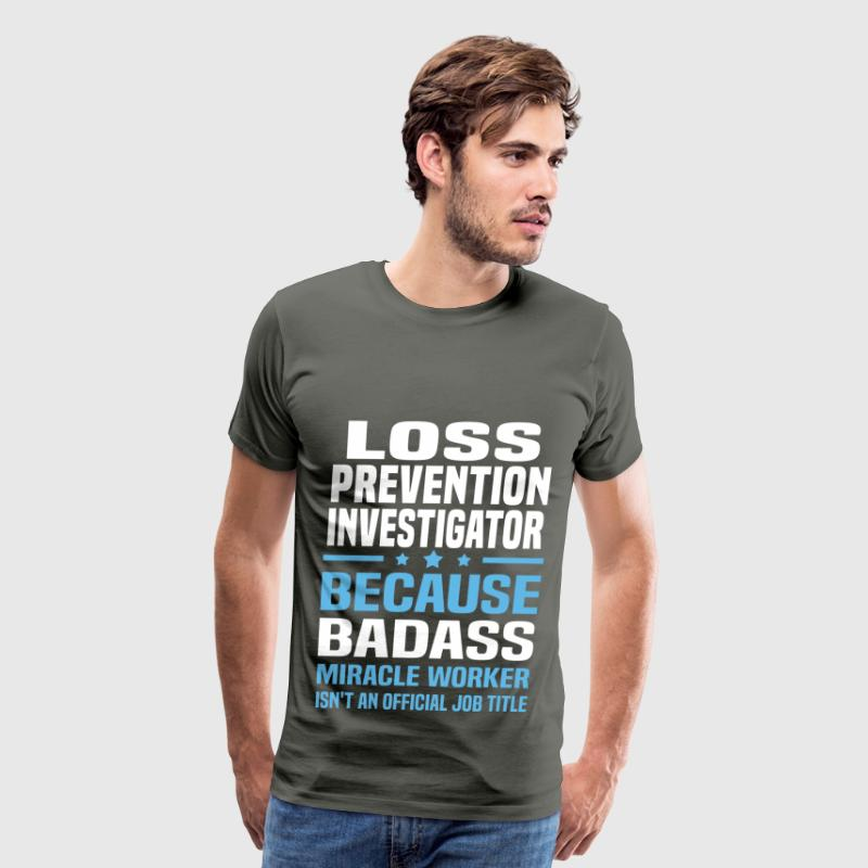 Loss Prevention Investigator - Men's Premium T-Shirt