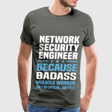 Security Engineer Girl Network Security Engineer - Men's Premium T-Shirt