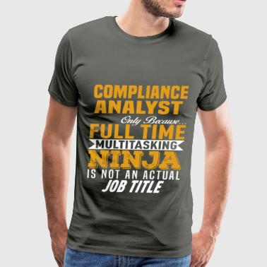 Compliance Analyst - Men's Premium T-Shirt