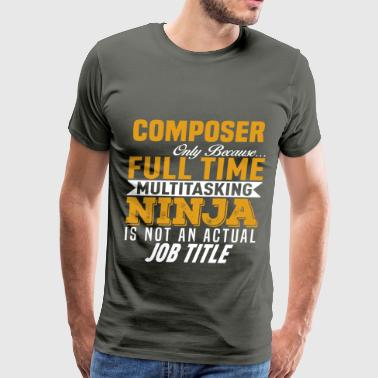 Composer - Men's Premium T-Shirt