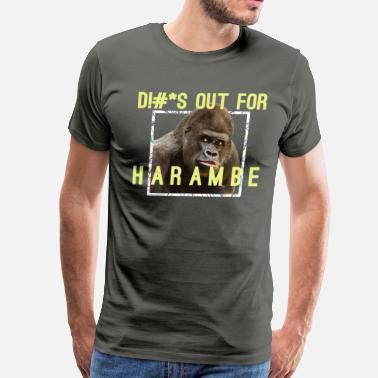 Harambe Harambe Tribute - Men's Premium T-Shirt