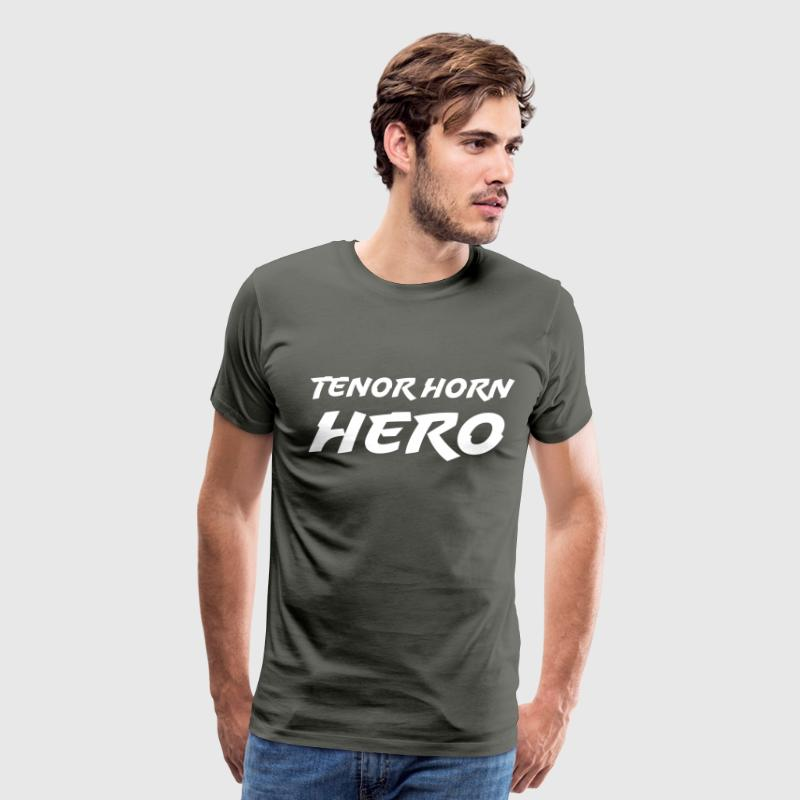 Tenor Horn Hero - Men's Premium T-Shirt