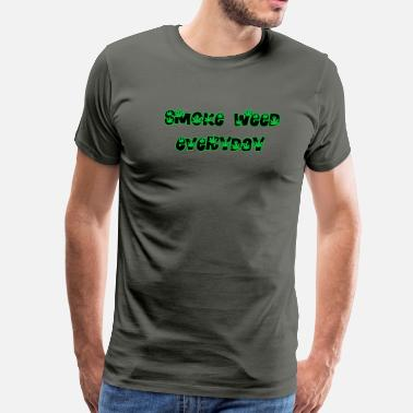smokeweedeveryday - Men's Premium T-Shirt