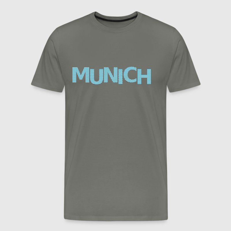 Munich bavarian flag - Men's Premium T-Shirt