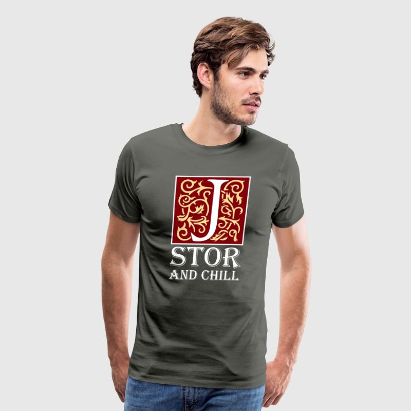 Jstor and Chill - Men's Premium T-Shirt