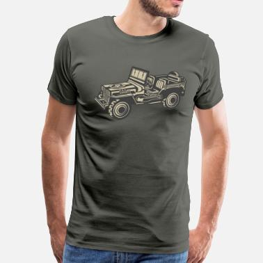 Army Jeep Army Jeep - Men's Premium T-Shirt