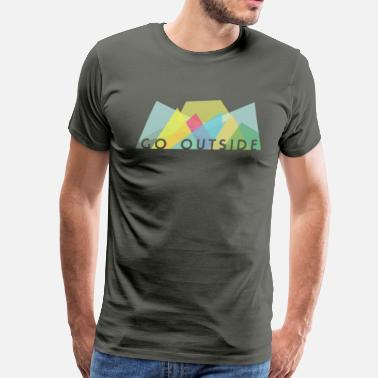 Outsiders Go Outside - Men's Premium T-Shirt