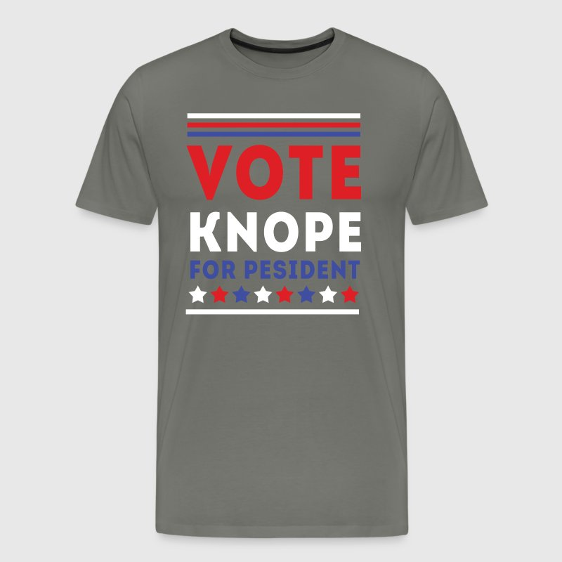 Parks and Recreation Vote Knope TV & Movie T-shirt - Men's Premium T-Shirt