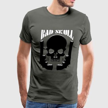 BAD SKULL - Men's Premium T-Shirt