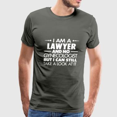 LAWYER - GYNECOLOGIST - Men's Premium T-Shirt