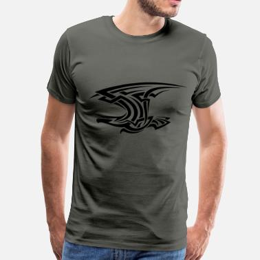 Tattoo Style Eagle tattoo style - Men's Premium T-Shirt