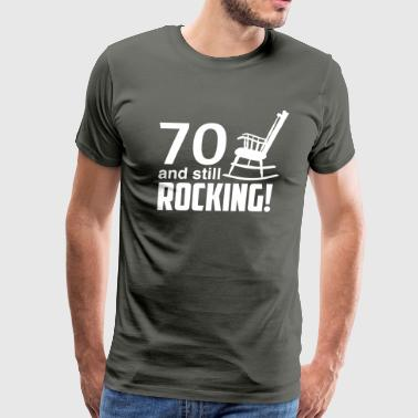 70 and still rocking! - Men's Premium T-Shirt