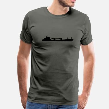 Cargo Bike Cargo ship - Men's Premium T-Shirt