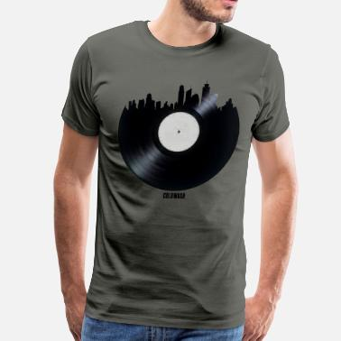 Independent Record Label CITY RECORDS - Men's Premium T-Shirt